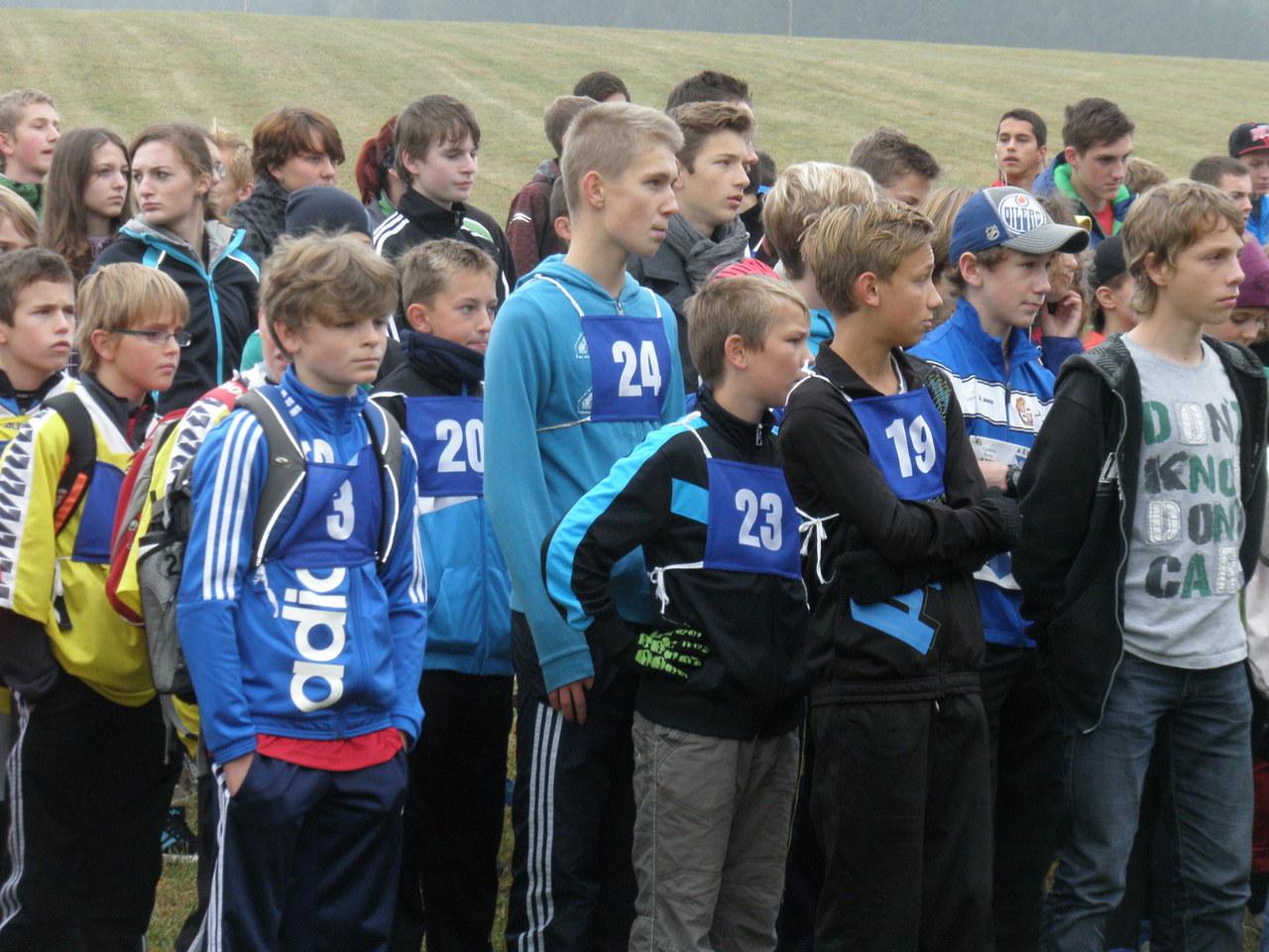 Přespolní běh - krajské kolo ve Žďáře nad Sázavou