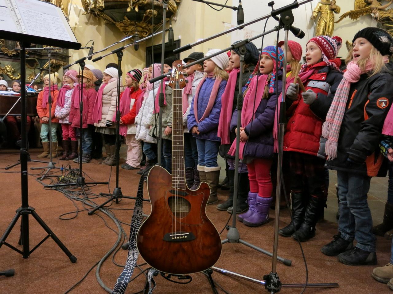 Vánoční koncert Oříšku