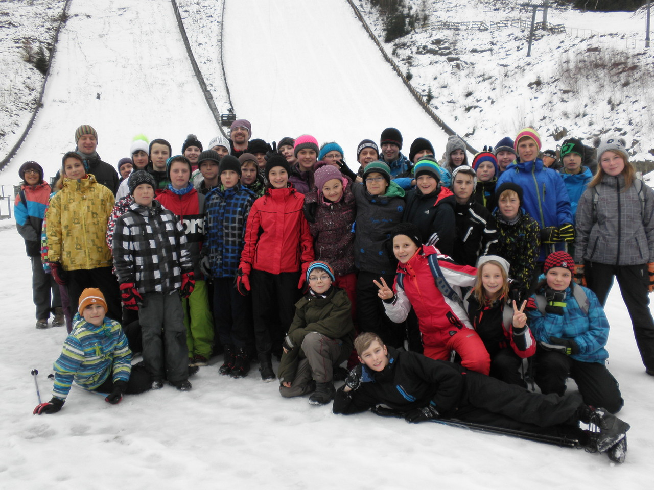 Lyžařský kurz 7. ročníku