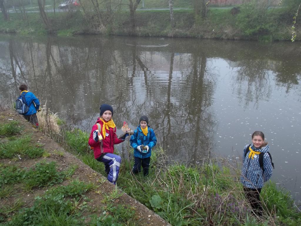 Čistá řeka Sázava 2014