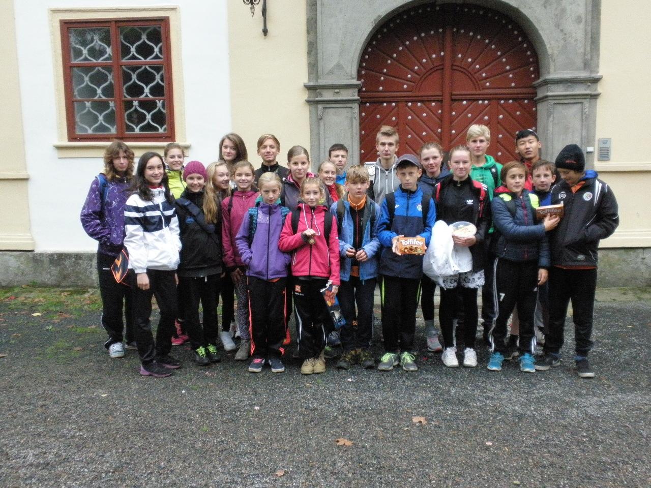 Přespolní běh v Chotěboři