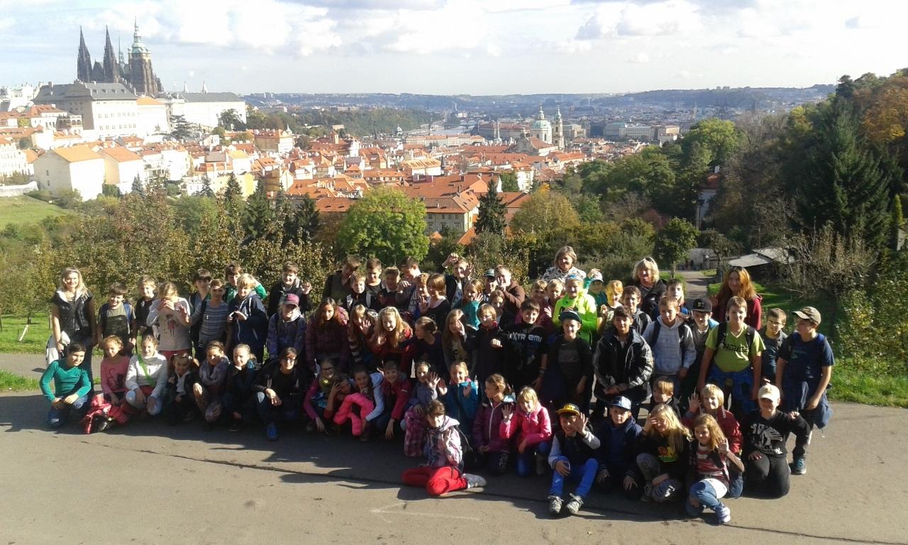 Exkurze Praha - 5. ročník