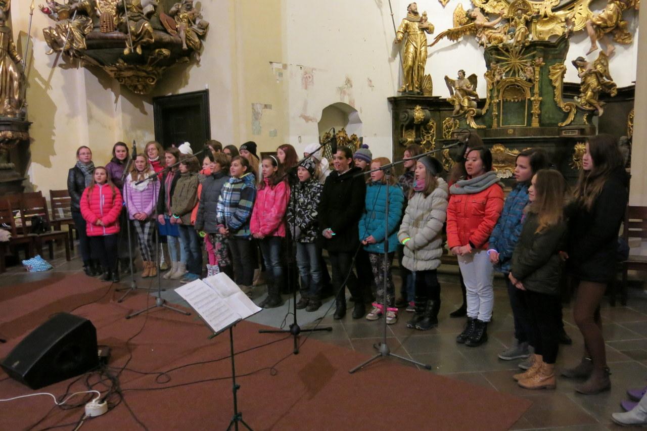 Předvánoční koncert Oříšku