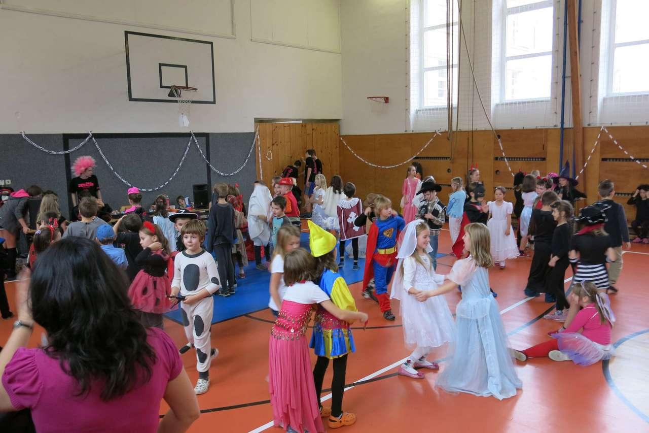 Karneval pro žáky 1. - 3. tříd