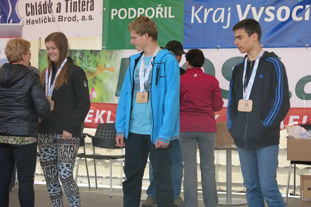 Medailové žně našich žáků