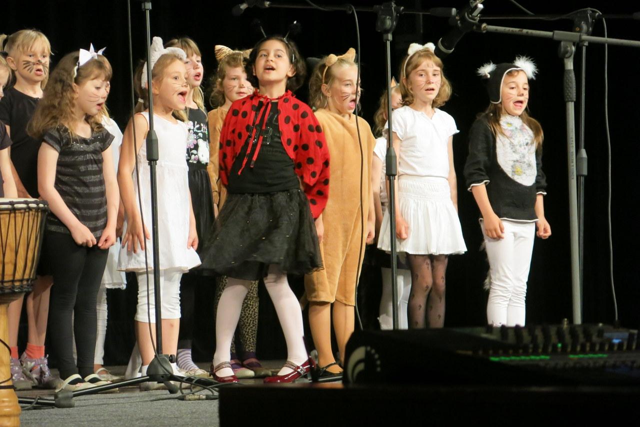 Jarní koncert pěveckého sboru Oříšek