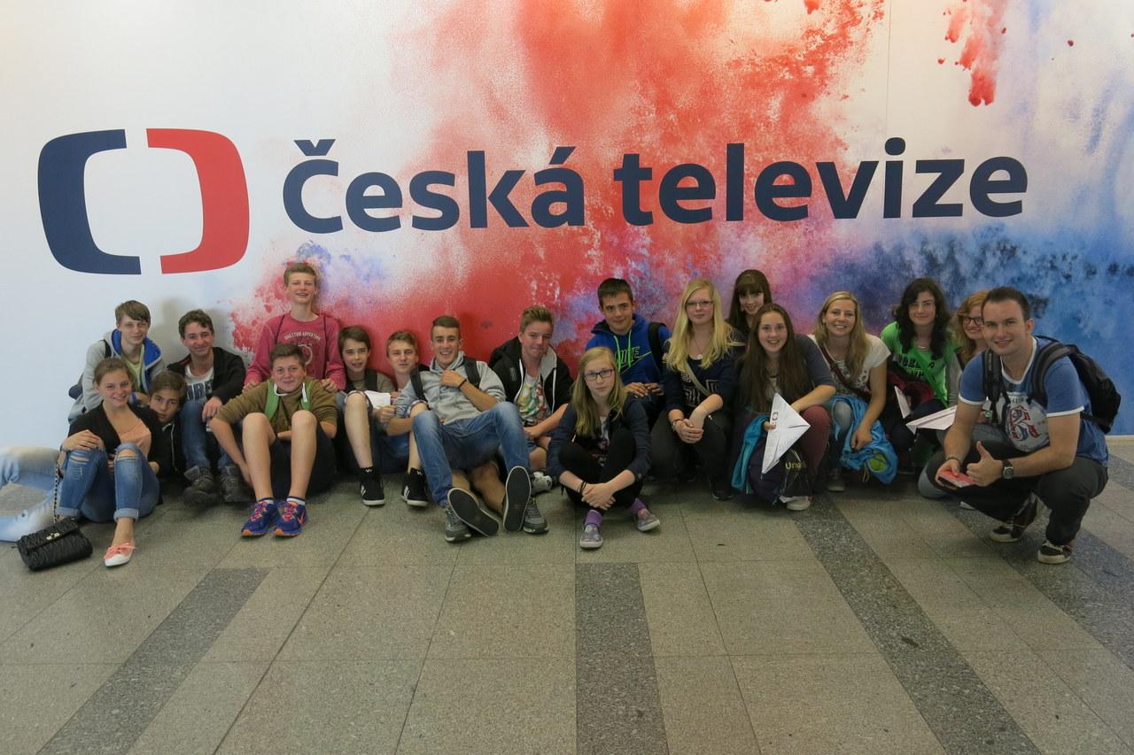 Deváťáci na závěr školního roku navštívili Prahu