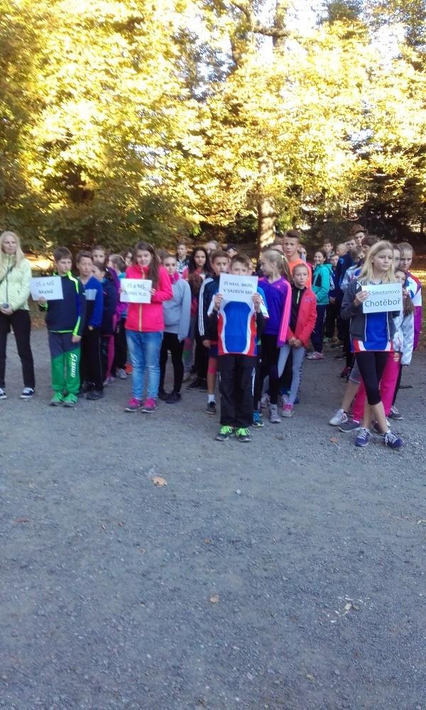 2.10. 2015 - Přespolní běh v Chotěboři