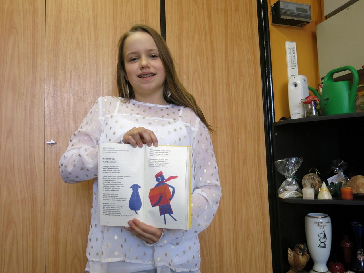 Mladá spisovatelka Eliška Vaňkátová