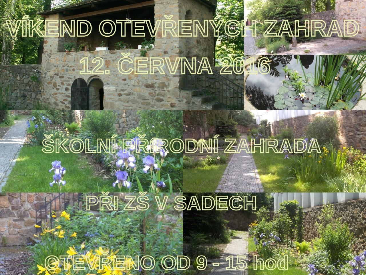 Víkend otevřených zahrad s Oříškem