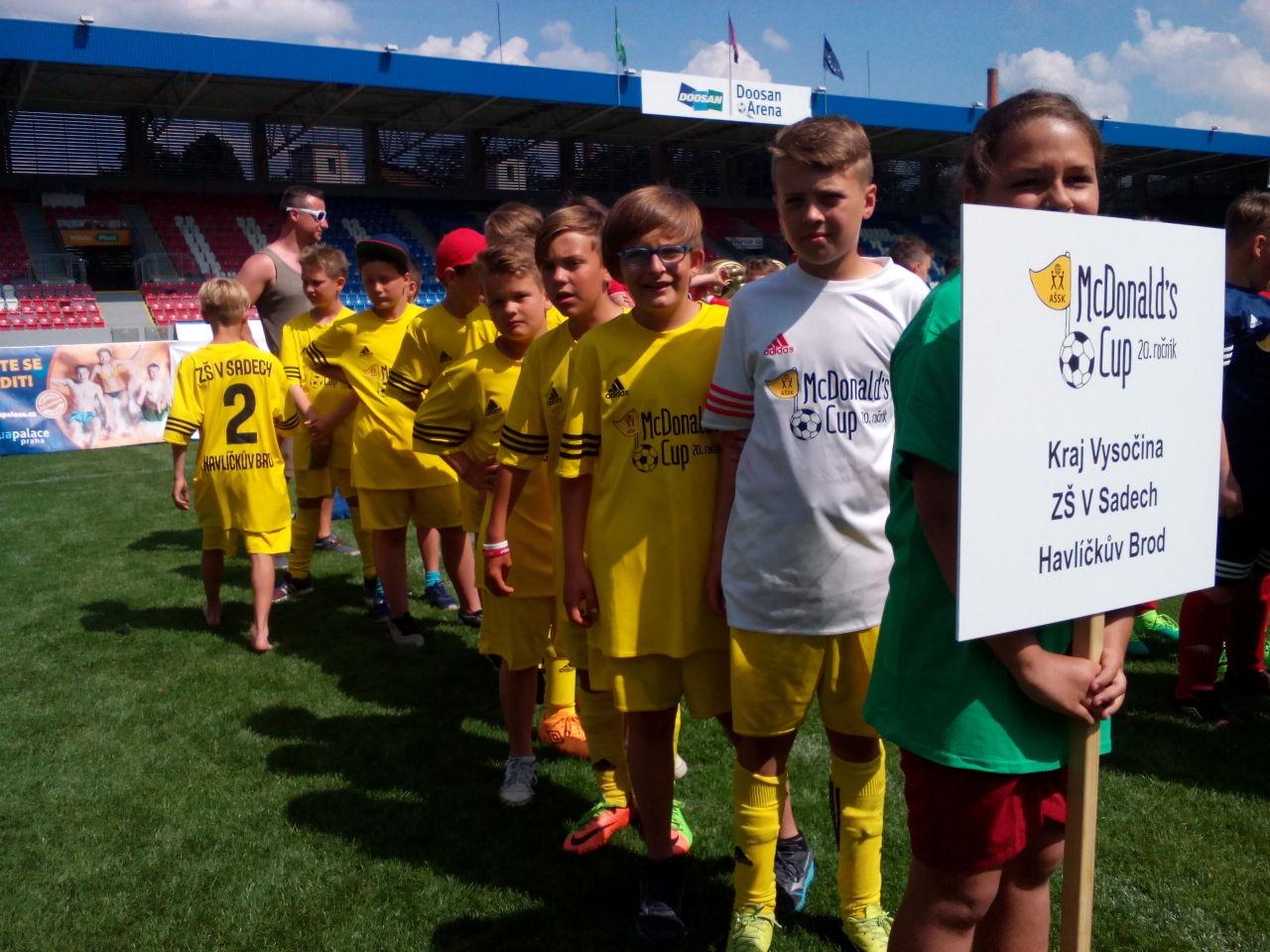 Fotbalisté ze Sadů mezi nejlepší jedenáctkou v republice