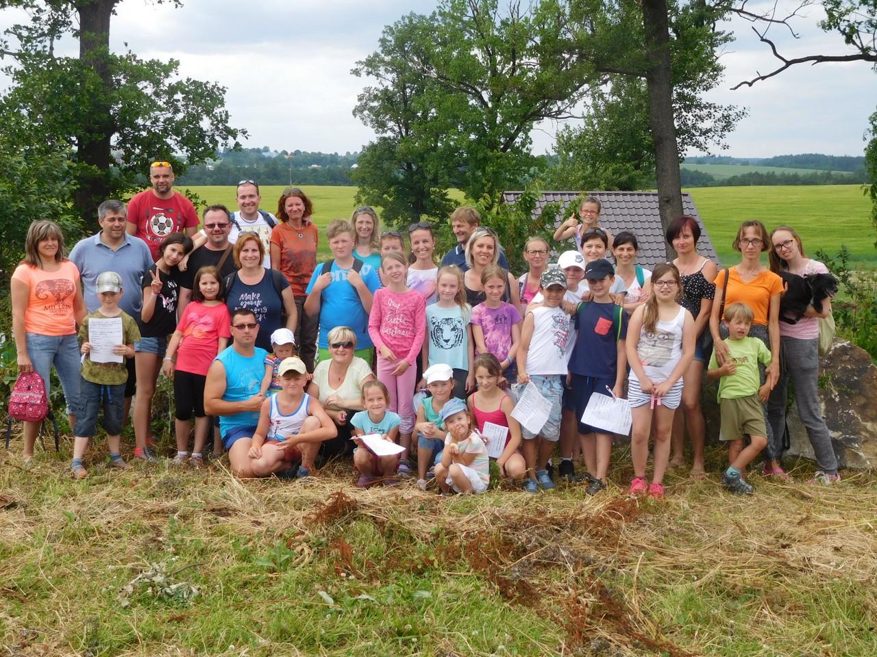 Buřtíky provoněly nedělní výlet