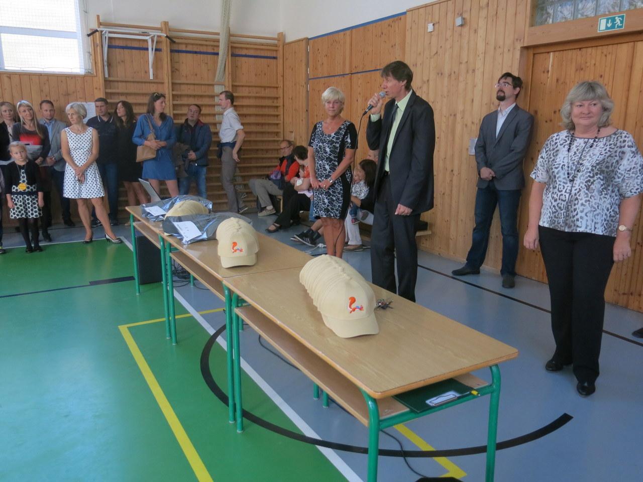 Slavnostní zahájení školního roku s Tomášem Hermannem