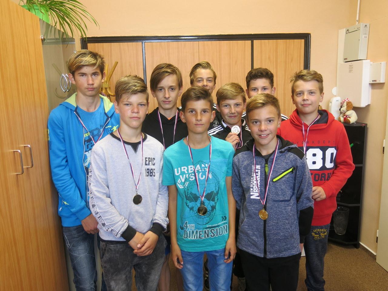Mladší žáci obuli zlaté kopačky