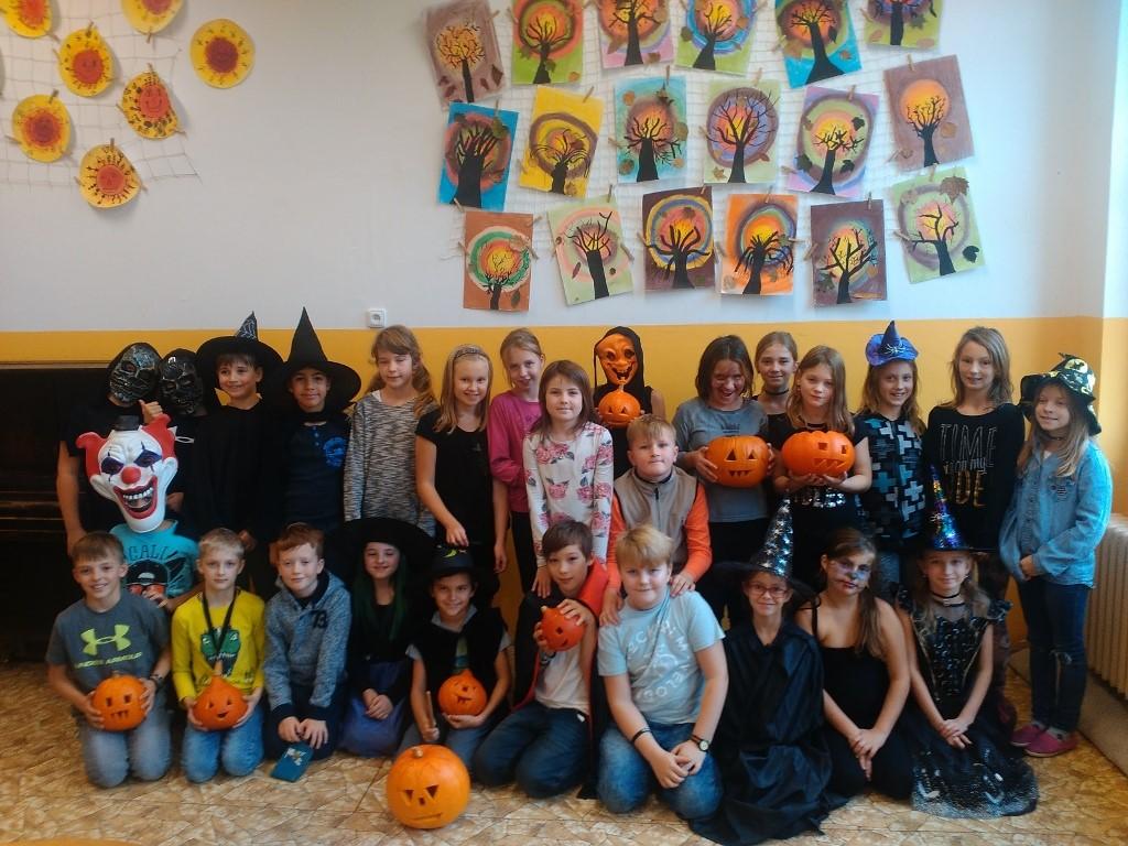 Halloween na I. stupni