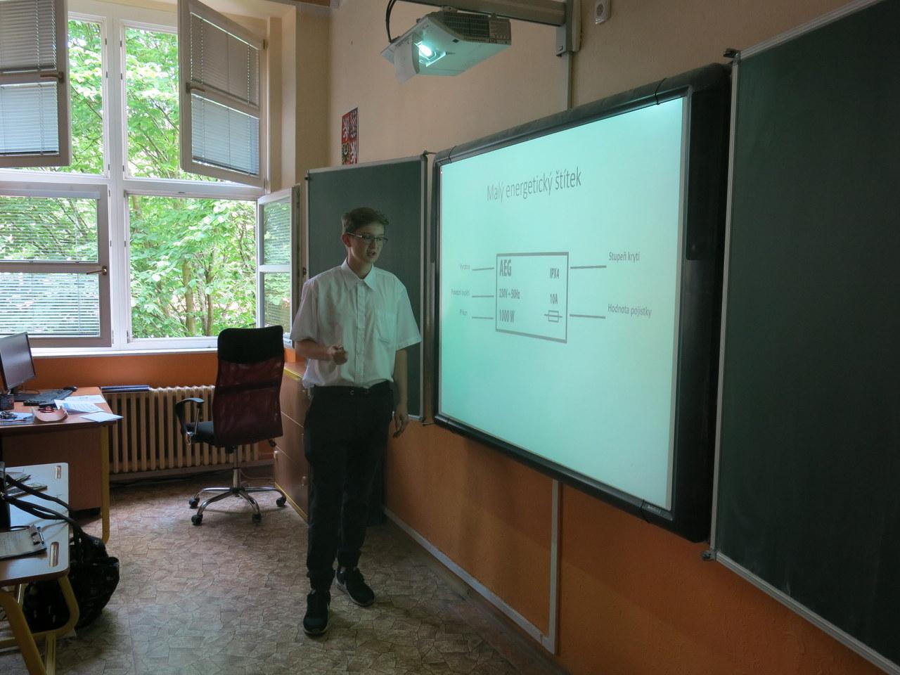 Slavnostní prezentace závěrečných prací